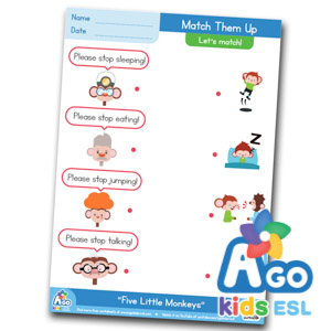Free ESL Worksheets Matching Time 1