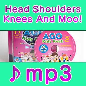 head shoulders knees and toes flashcards