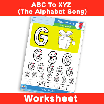 ABC To XYZ (The Alphabet Song) - Uppercase G