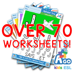 alphabet number letters writing practice worksheet pack