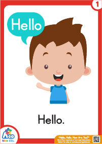 how to use hello card