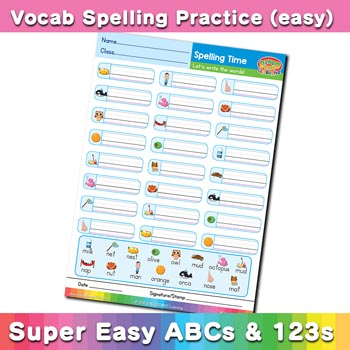 free esl spelling worksheet m n o