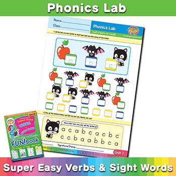 Free Phonics Program Worksheet