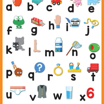 Lowercase (Small Letters) EFL posters