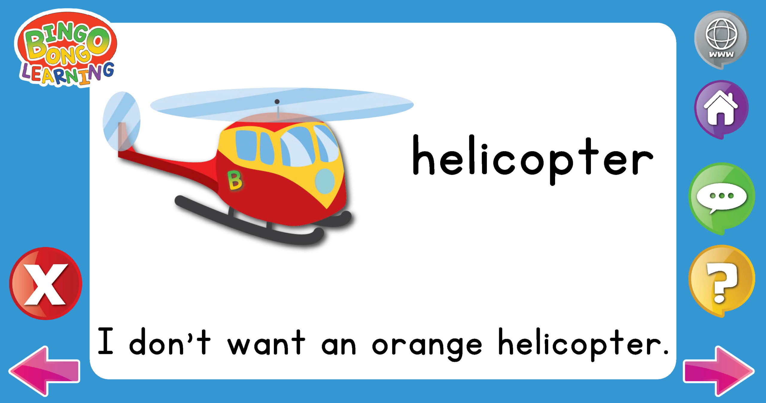 Vehicles BONKERS Product Thumbnail helicopter