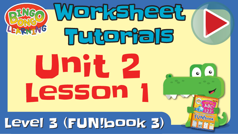 worksheet tutorial video l3 u2 l1