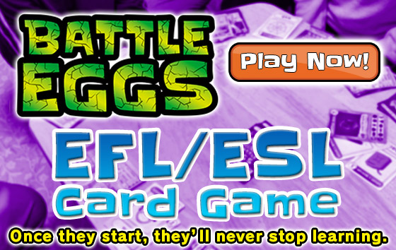 batte eggs esl efl card game